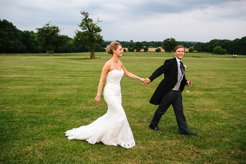 Laura and Tim - St. Paul's Church, Chipperfield - Micklefield Hall