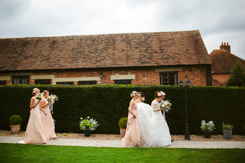 Laura and Steve - The Winters Barns, Canterbury