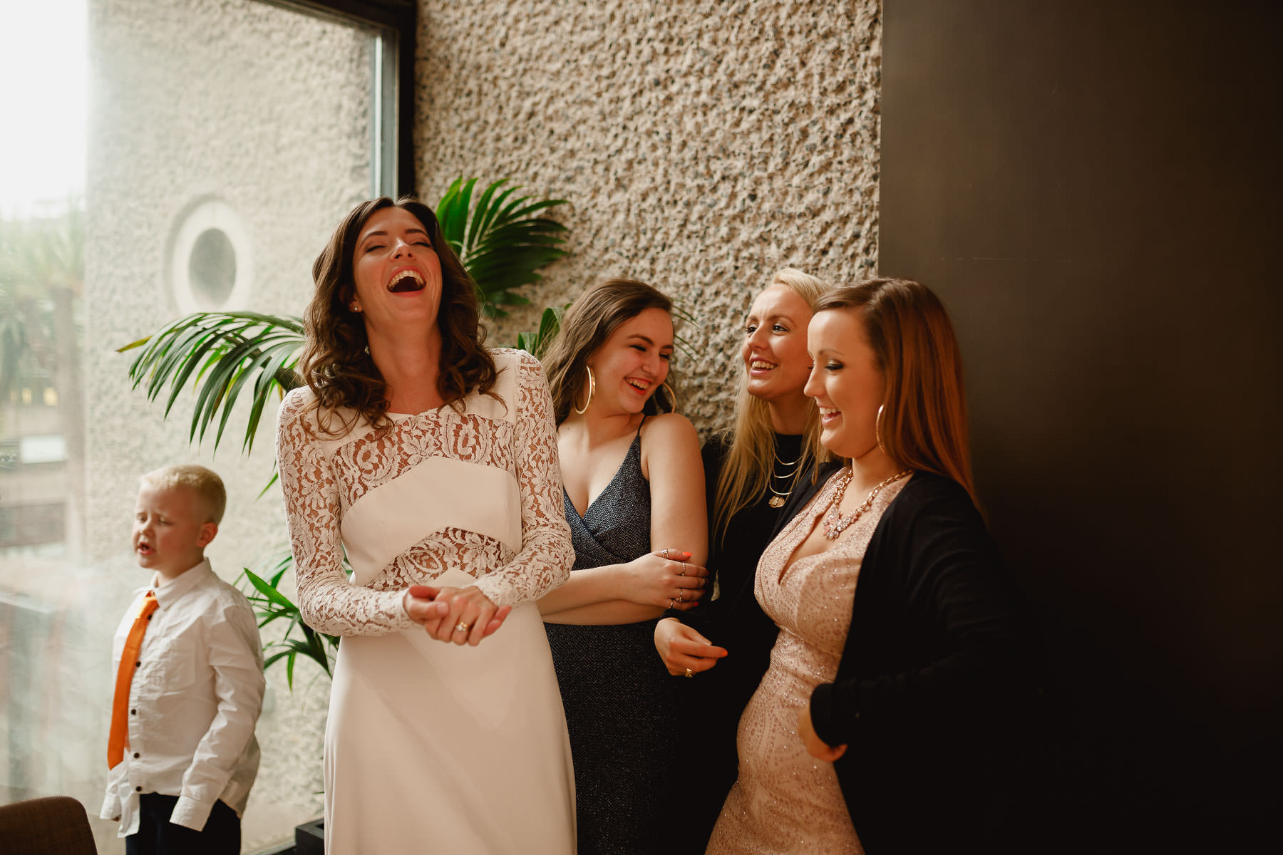 barbican centre wedding photography