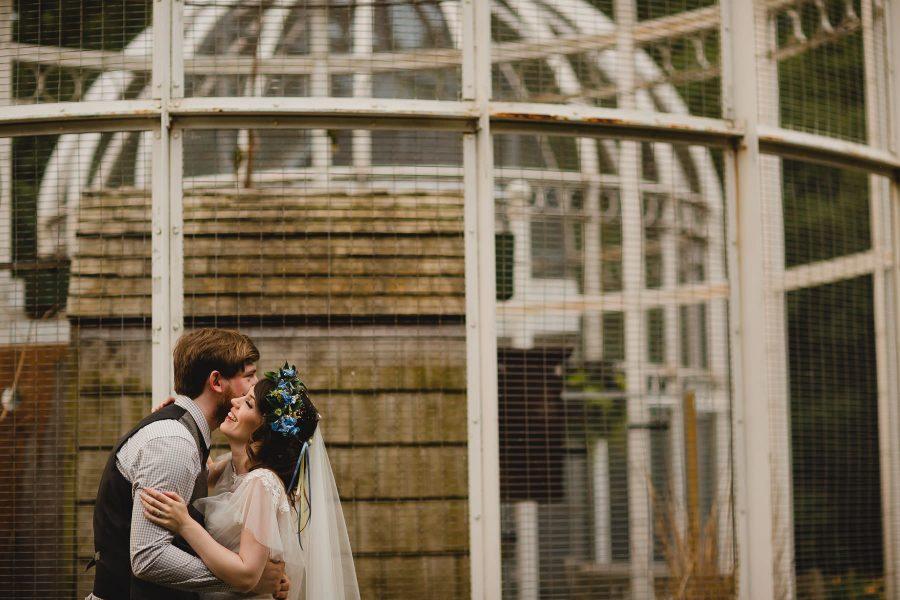 Lianne + Craig - Birmingham Botanical Gardens